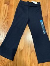 New Girls Roll Top Yoga pants from The Children's Place - Size 4 - Navy