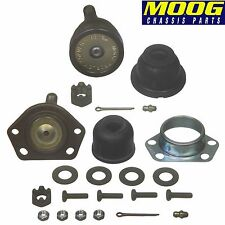 For Chevrolet Buick Cadillac Pair Set of Front Lower & Upper Ball Joints Moog