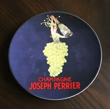 """Pottery Barn Bubbly Champagne Joseph Perrier 8.25"""" Appetizer Salad Plate"""