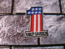 Aufnäher Patch Motorcycles Harley-Davidson Racing Motorradsport Biker-MC Race GT
