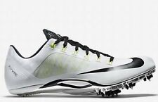 $120 NIKE Zoom Superfly R4 Track Field Running Sprint Spikes White Volt 11.5