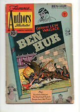 Stories by Famous Authors #11 Ben Hur by General Lew Wallace Vg- 3.5 1951