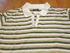 Women Golf Shirt Work Clothes Stripes 24 Pc 60/40 Cotton/Poly Import M XL