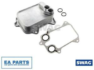 Oil Cooler, engine oil for AUDI SEAT SKODA SWAG 30 10 3299