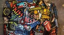 More details for rock band iron on patches 10 patches joblot