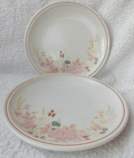 Boots Hedge Rose - 2 Salad or Breakfast Plates 7.5""