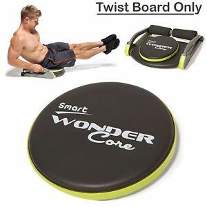 Wonder Core Wondercore Twist Board Fitness Body Exercise Ab Workout Training Gym