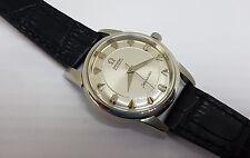 Raro años 60 Omega Seamaster De Plata Reloj De Hombre Automático CAL:501 de logotipo Big Caballito de mar ss