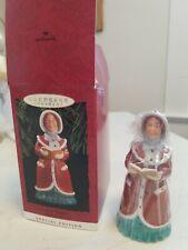 1993 Hallmark Keepsake Ornament Special Edition Lady Daphne Dickens Caroler Bell
