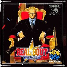 REAL BOUT FATAL FURY JAPAN NEO GEO CD-ROM NTSC 1995 GAME SNK