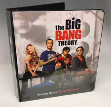 BINDER SALE: ALBUM for THE BIG BANG THEORY SEASONS 1 & 2 Cards By Cryptozoic '12