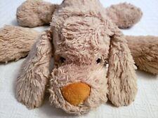 "Circo Target Puppy Dog 15"" Tan Beige Plush Floppy Stuffed Animal Shaggy Lovey *F"
