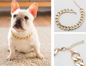 Pet Dog Collar Neck Ring Necklace Puppy cat Safe Belt Jewelry Adjustable Plastic