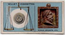 Where Abbreviations of lb. And oz. For Weights Originated 80+  Y/O Ad Trade Card