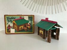 🍓 Ancienne Maison En Bois Forestière Baby Jeujura Vintage