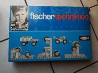 Fischer Technik  -Packung Nr. 100 (wohl 70 er Jahre)  recht gut