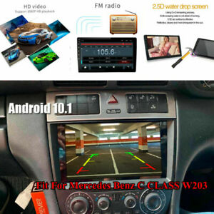 Fit For Mercedes Benz C Class W203 9-in Car GPS WIFI Stereo FM Radio MP5 Player
