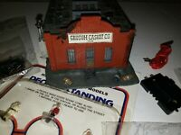 HO Scale Model Train Lot 8 Pieces Grusom Casket Building
