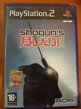 SHOGUN' S BLADE - PLAYSTATION 2 PS2 USATO