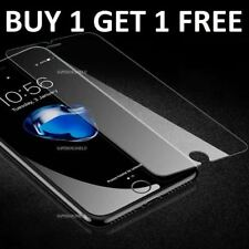 100% Genuine Tempered Glass Screen Protector Film For Apple iPhone 7 - NEW