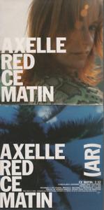 Axelle Red Ce Matin CD PROMO