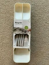 New listing Compact Utility Cutlery Flatware Drawer Organizer by Hung Kai