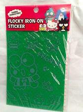 New Sanrio Kerokero Keroppi Flocky Iron on Sticker