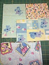 COTTON SCRAP BAGS- Children's Fabric 6