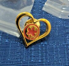 AIR CANADA PROMOTIONAL HEART PIN MINT