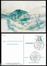 Germany 1971 Postcard, SP. Cancellation, Painting, Durer, Welsches Mountains