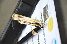 24K Gold plated metal fountain pen nib medium black Classic BAOER 519