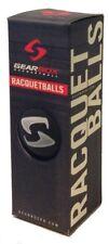 Gearbox Racquetballs - 3 Ball Pack - Sleek Black
