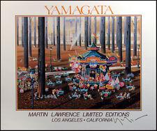 Hiro Yamagata HAND SIGNED POSTER Martin Lawrence ART ARTWORK Make Offer