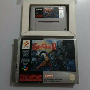 Super Castlevania IV SIN MANUAL Super Nintendo SNES Pal FAH CAJA DESGASTADA!