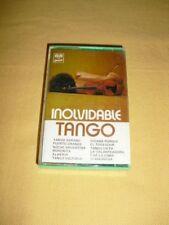 Inolvidable Tango Cassette audio Tape Compilation