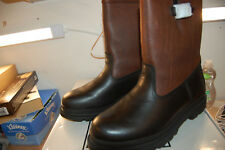 NIB Frye Riley Pull On leather boot Snow winter wool lined Black Size 11 M $398