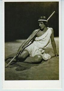 Michael Fokin Russian BALLET DANCER, Paris, 1911 Reprint Photo Postcard