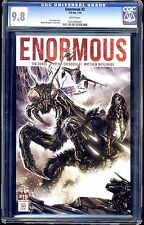 ENORMOUS #2 VOLUME 1  REGULAR COVER CGC 9.8 WHITE PAGES  SALE!