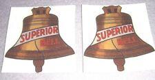 Superior water slide decals not sticker for antique slot machine restoration