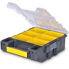 Stanley FATMAX NARROW 6-COMPARTMENT ORGANISER Water Resistant Seal *USA Brand