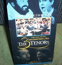 The Making of the 3 Tenors in Concert 1994 Placido Domingo Luciano Pavarotti VHS