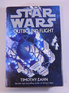 Star Wars: Outbound Flight by Timothy Zahn Hardcover book novel
