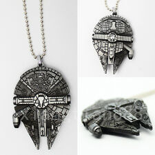 Cool Anime Star Wars Necklace+Box Cosplay Pendant Fashion Film Retro Otaku Gifts