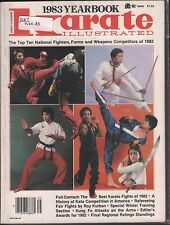 Karate Illustrated Yearbook 983 Top Ten National Fighters VG 021616DBE