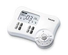 Beurer EM-80 - Electro estimulador digital, 8 canales, EMS/TENS/Masaje