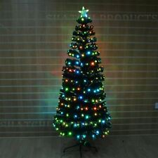 Artificial Fiber Optic Christmas Tree LED Xmas Home Decor Decorations 8ft 240cm