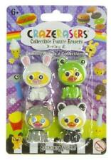 Duckies in Disguise (4 Mini-Erasers) CrazErasers: Collectible Erasers Series #2