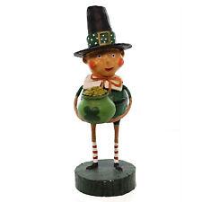 "6"" Lori Mitchell Lucky Liam Leprechaun St Patricks Day Retro Vntg Figurine Decor"