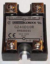 ALLEN BRADLEY RP 502296 CROUZET GORDOS G240D10R 3-32 VDC Solid State Relay