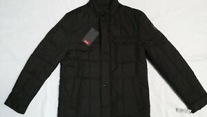 NEW Tumi Mens Regular Fit Quilted Jacket Olive Green SIZE S